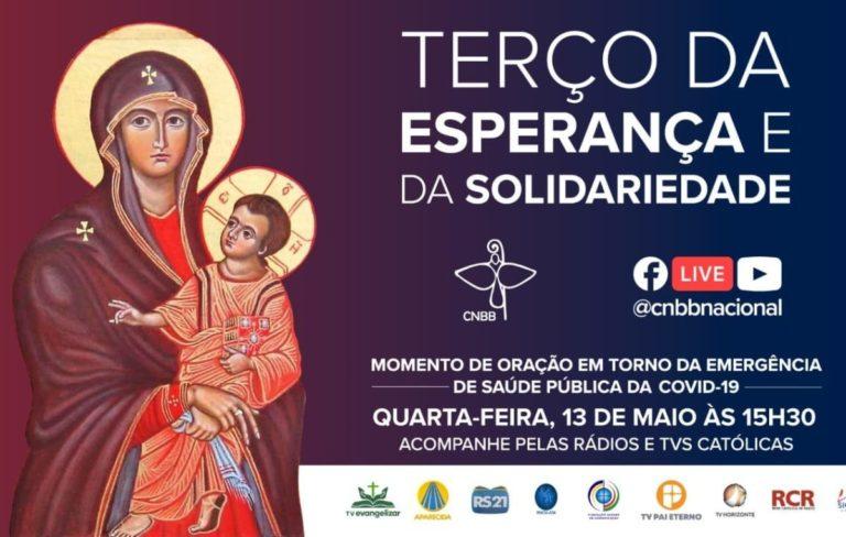 Dom Orlando Brandes conduzirá o terço da Esperança e da Solidariedade